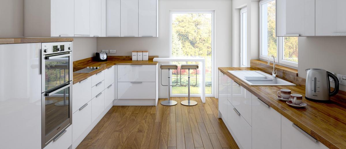 Encimeras de madera para cocinas awesome pros de comprar - Encimeras madera cocina ...
